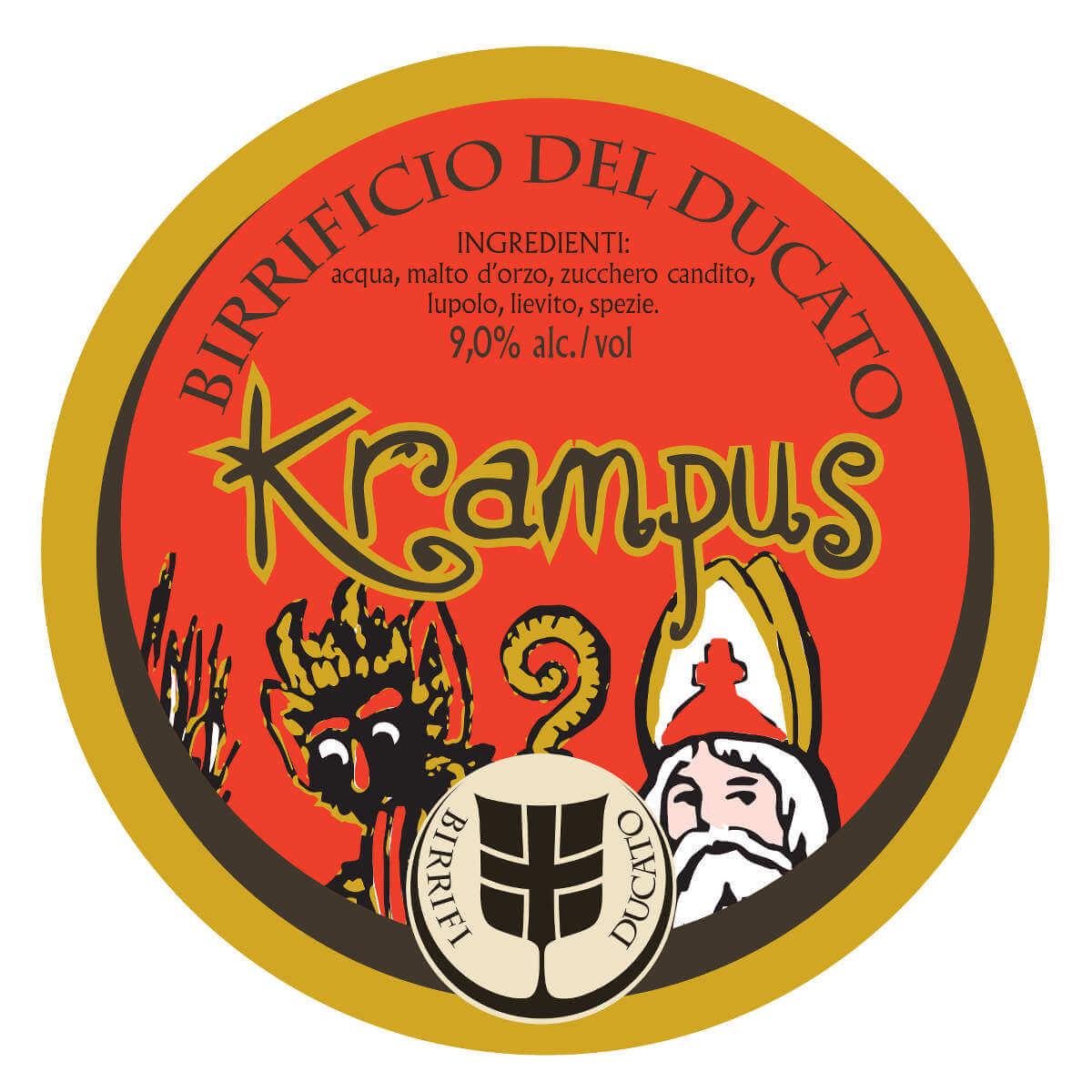 Birrificio Del Ducato Krampus label