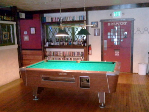 Brewers Union pool table