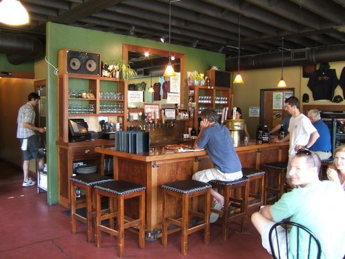 Double Mountain Brewery, the bar