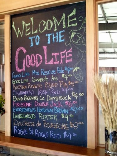 GoodLife beer list