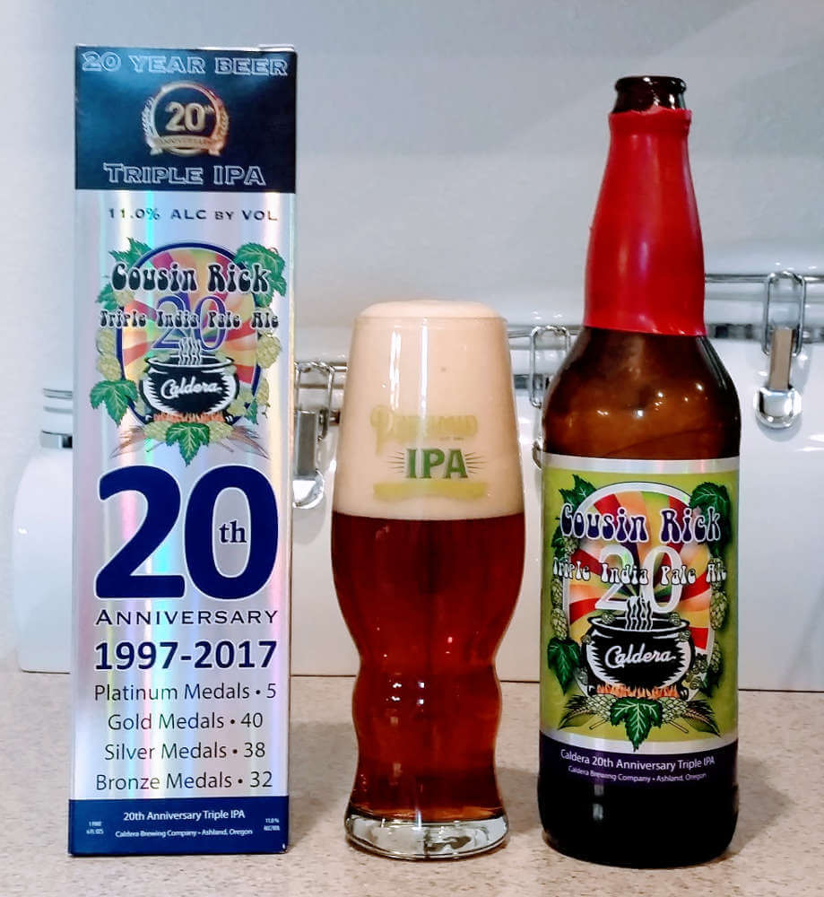Caldera Brewing Cousin Rick Triple IPA