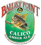 Ballast Point Brewing Calico Amber Ale label