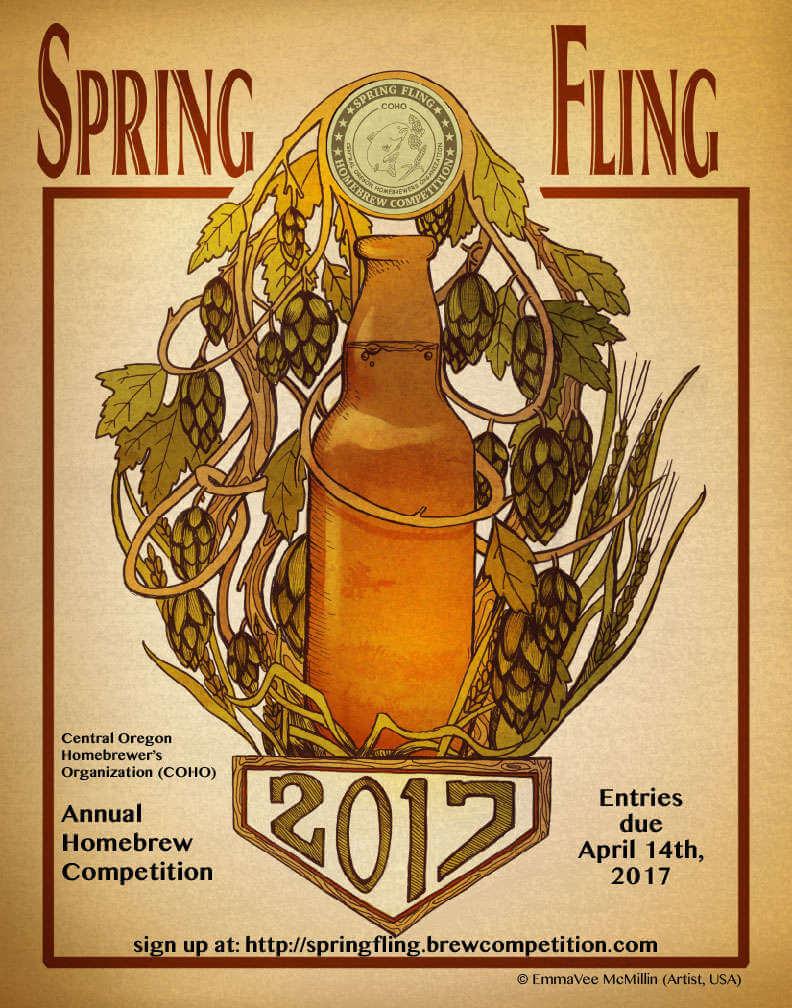 COHO Spring Fling 2017 poster