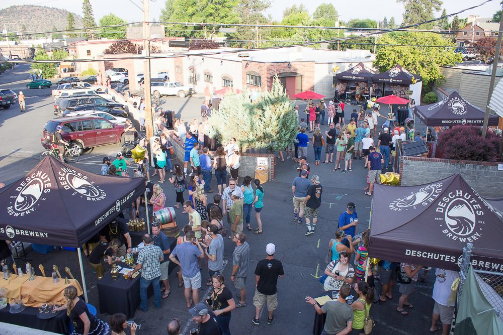 Deschutes' 27th back alley bash