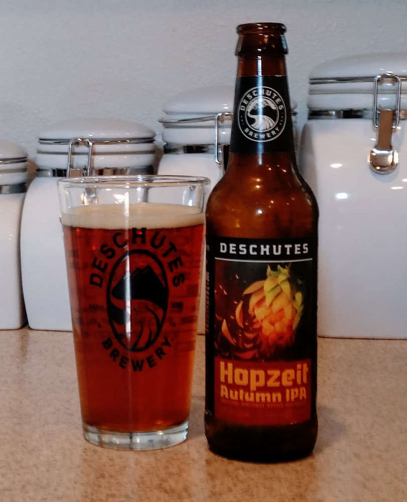 Deschutes Brewery Hopzeit Autumn IPA 2017