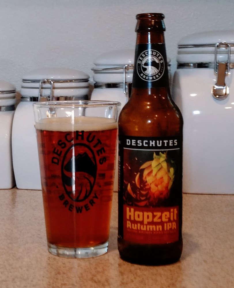 Deschutes Brewery Hopzeit Autumn IPA 2017