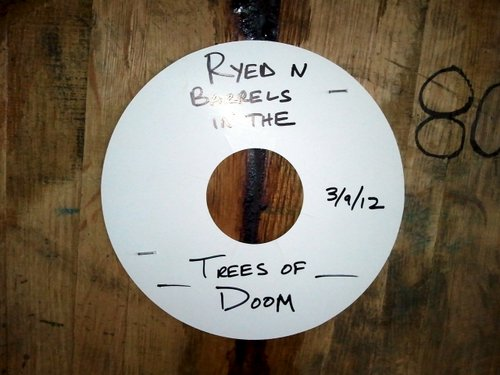 Ryed n Trees of Doom Dunkel - in the barrel