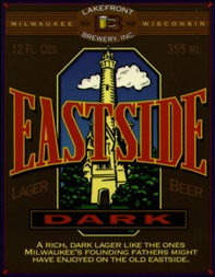 Lakefront Brewery's Eastside Lager label