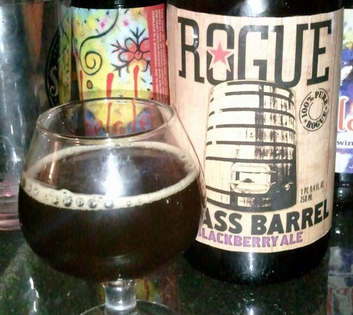 Rogue Big Ass Barrel Blackberry Ale