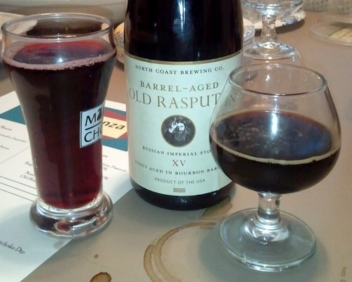 North Coast Barrel-Aged Old Rasputin XV