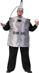 Beer keg Halloween costume