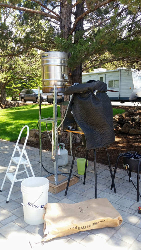 Homebrew Systems: Brew stand
