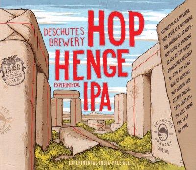 Hop Henge 2009 label