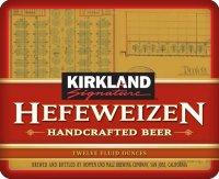 Kirkland Hefeweizen label