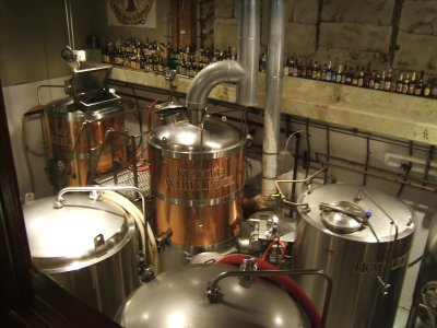 Laurelwood brewing tanks