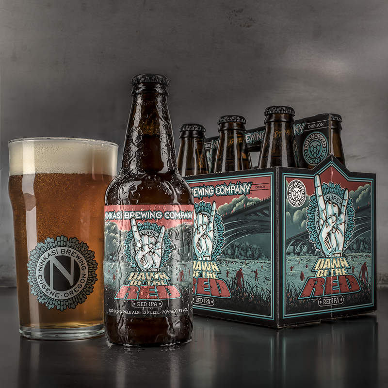 New Ninkasi Branding: Dawn of the Red
