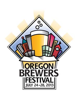 Oregon Brewfest logo, 2013