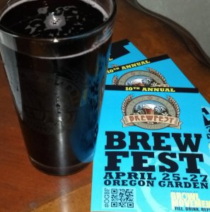 Oregon Garden Brewfest kickoff
