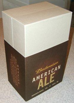 Anheuser-Busch Budweiser Ale box