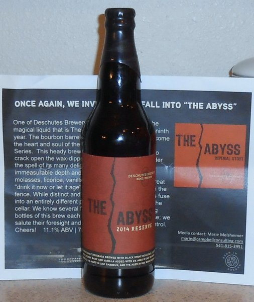 Deschutes Brewery The Abyss 2014