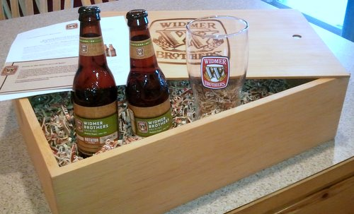 Widmer Falconer's IPA package