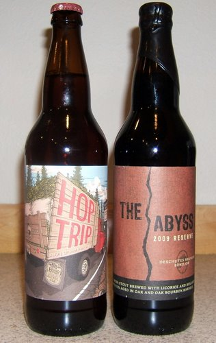 2009 Hop Trip and 2009 Abyss
