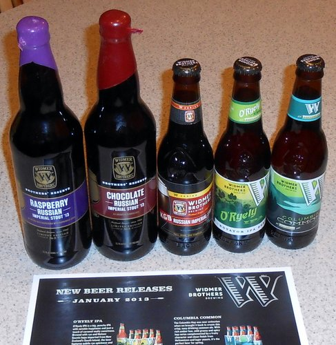 Widmer January 2013 releases