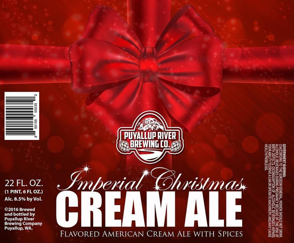 Puyallup River Imperial Christmas Cream Ale