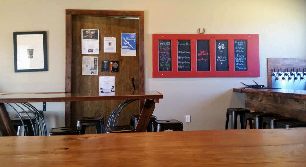 Quirk Brewing tasting room