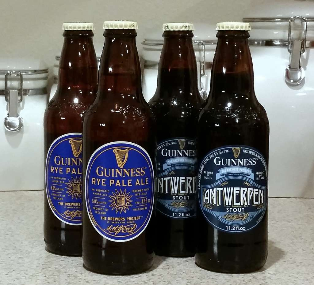 Received: Guinness specialties