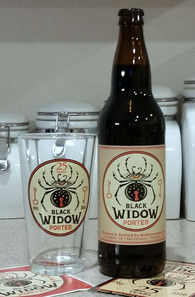 Received: McMenamins Black Widow Porter