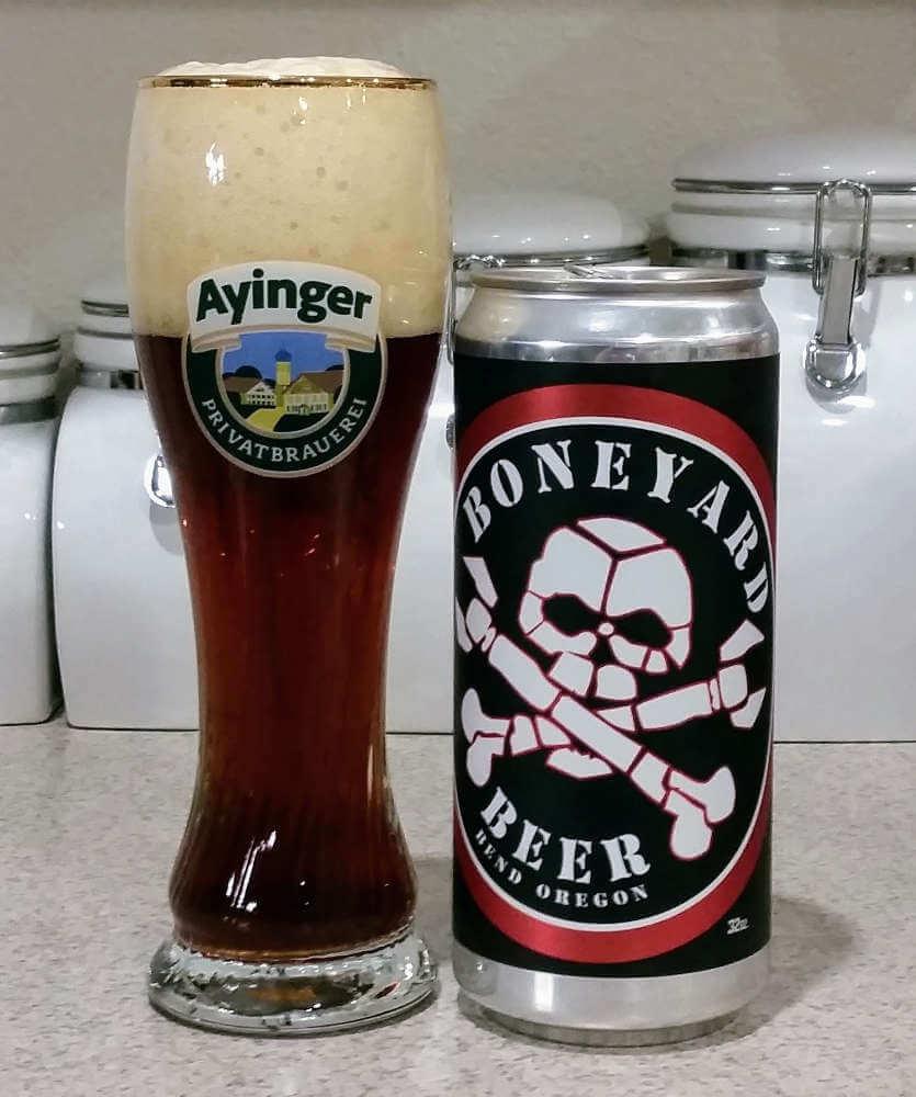 Boneyard Beer Creepy Dunkel