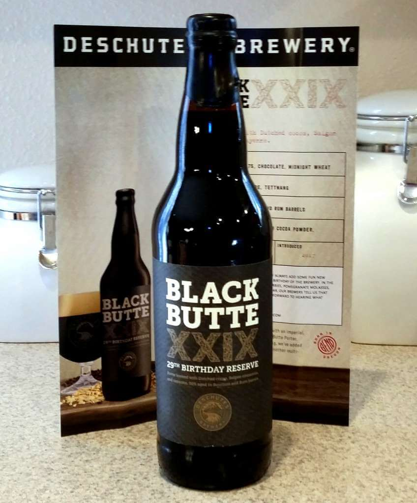 Received: Deschutes Brewery Black Butte XXIX