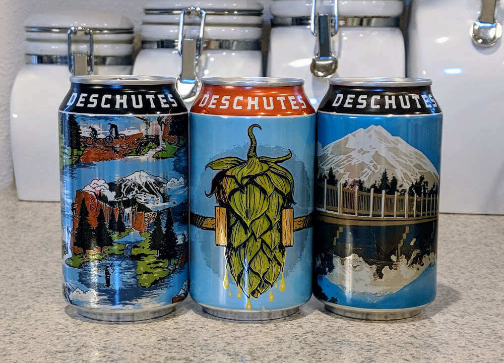Received: Deschutes Brewery cans