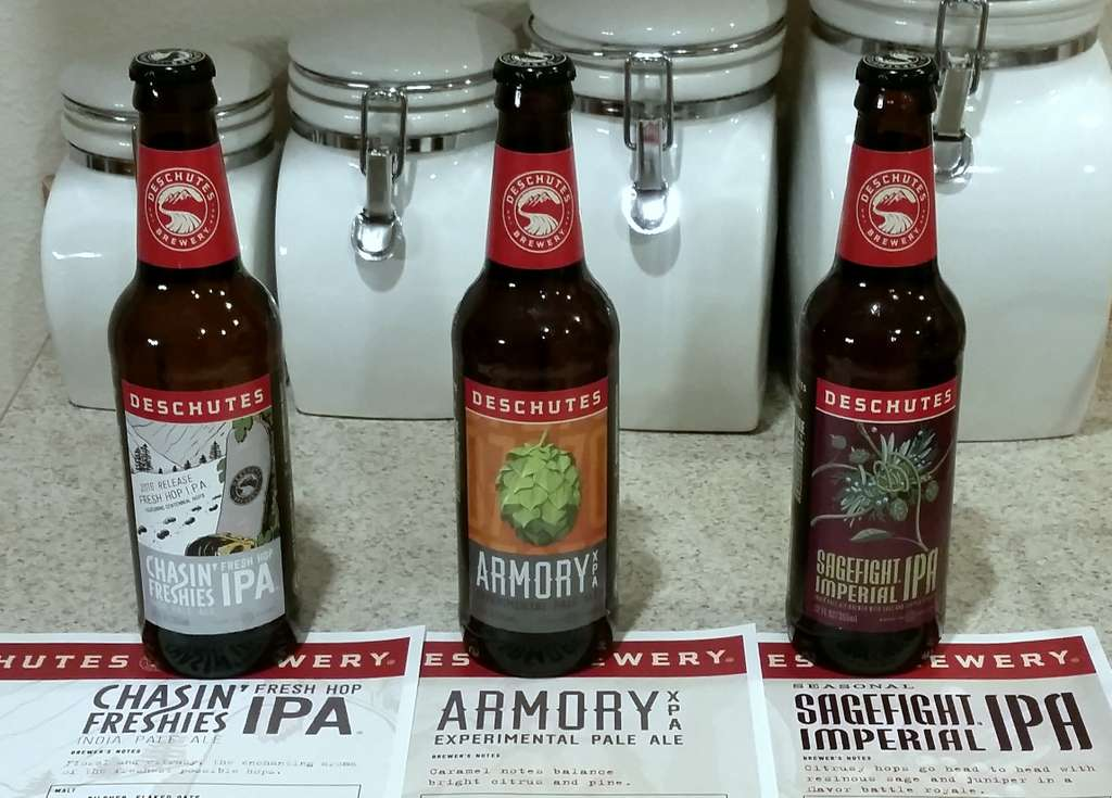 Received: Deschutes beers for Fall