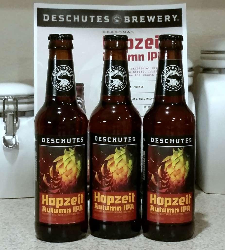 Received: Deschutes Hopzeit Autumn IPA