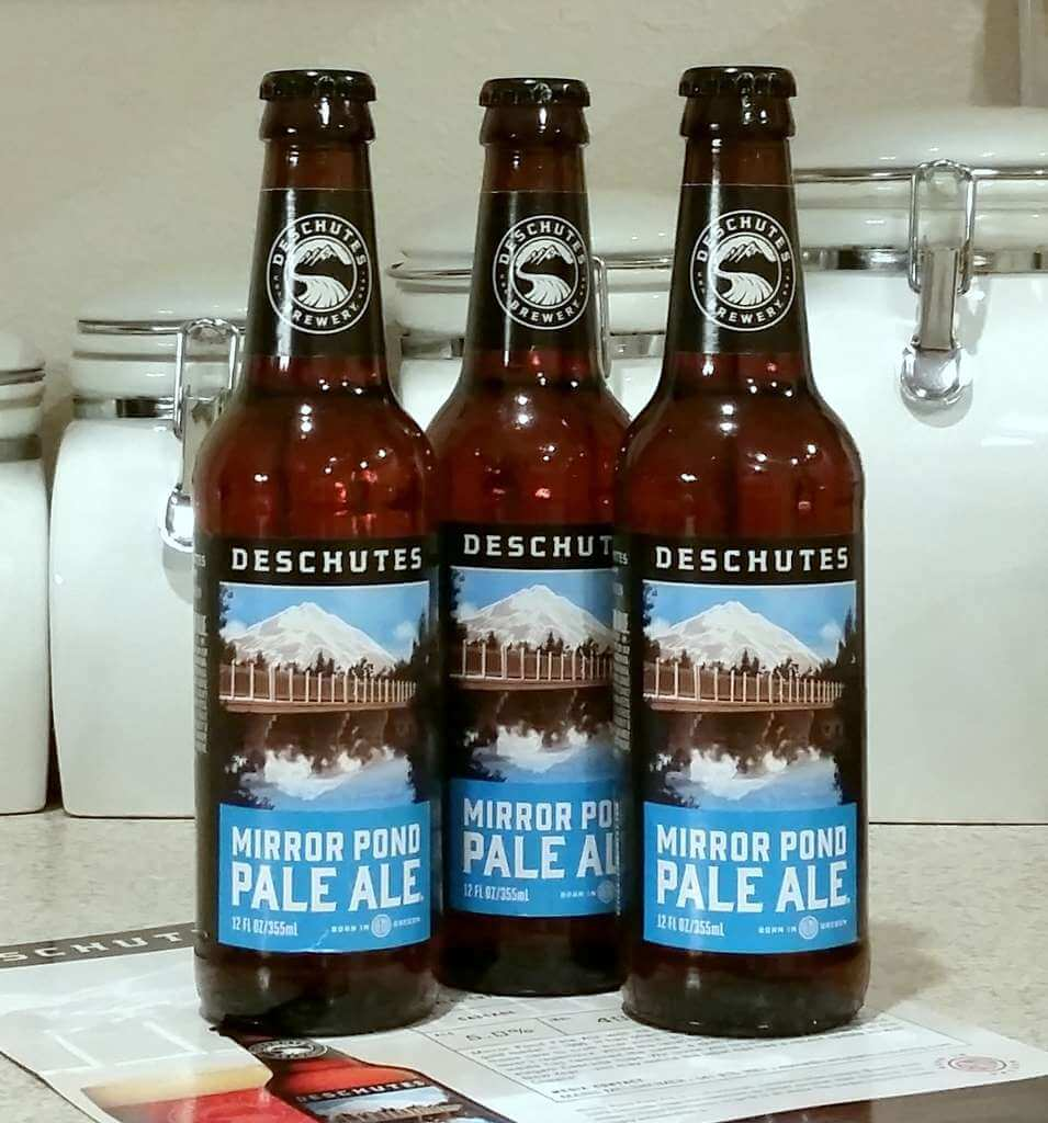 Received: Deschutes Brewery Mirror Pond Pale Ale
