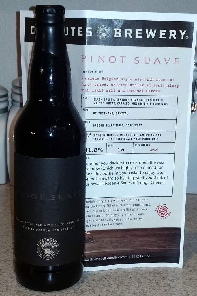 Received: Deschutes Pinot Suave