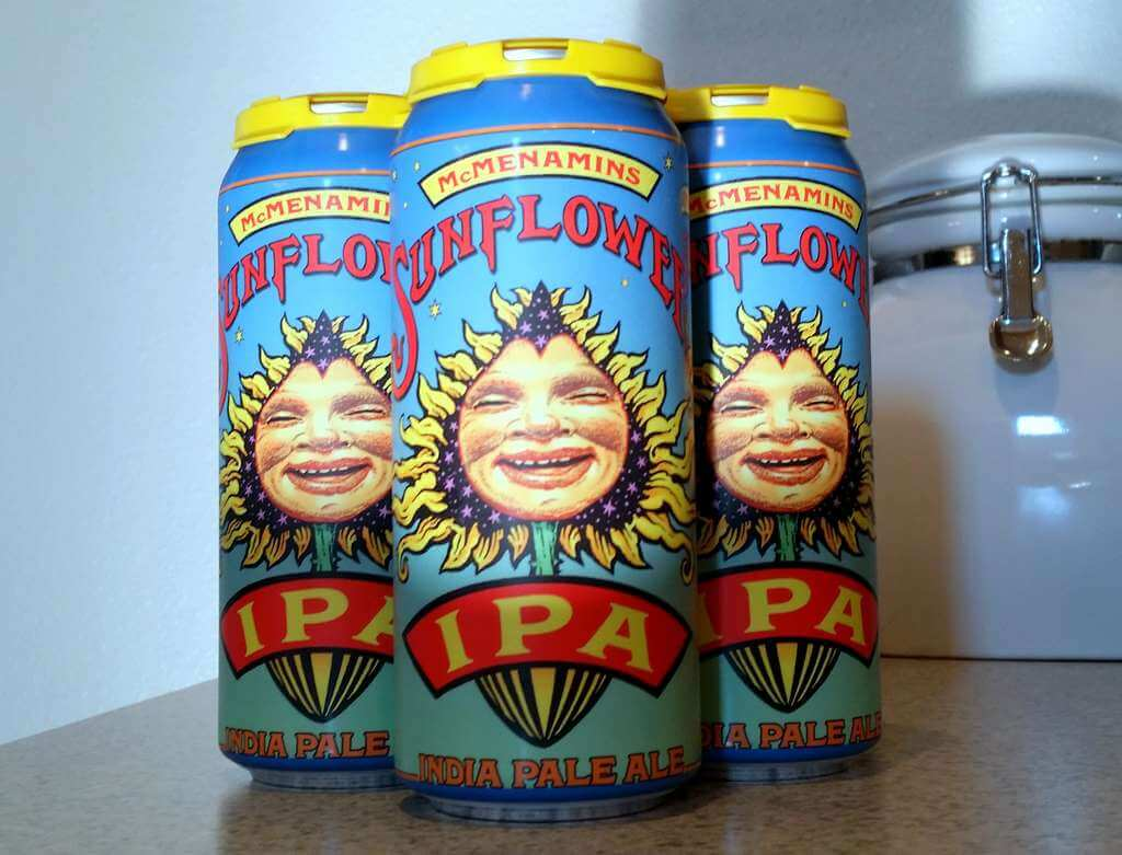 Received: McMenamins Sunflower IPA