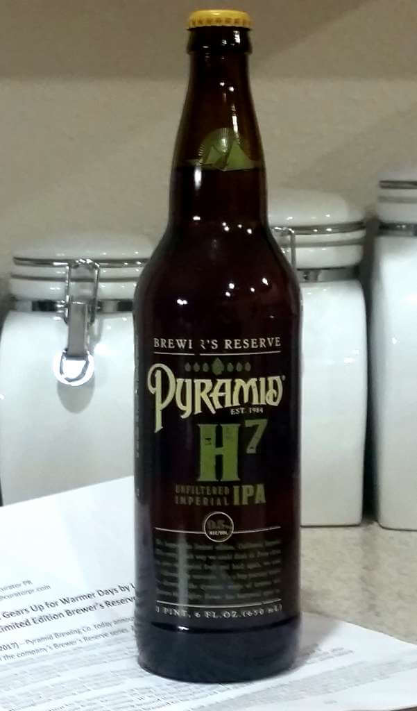 Received: Pyramid H7 Imperial IPA