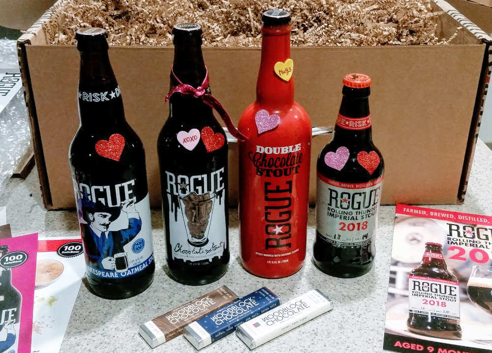 Received: Rogue Ales chocolate beers