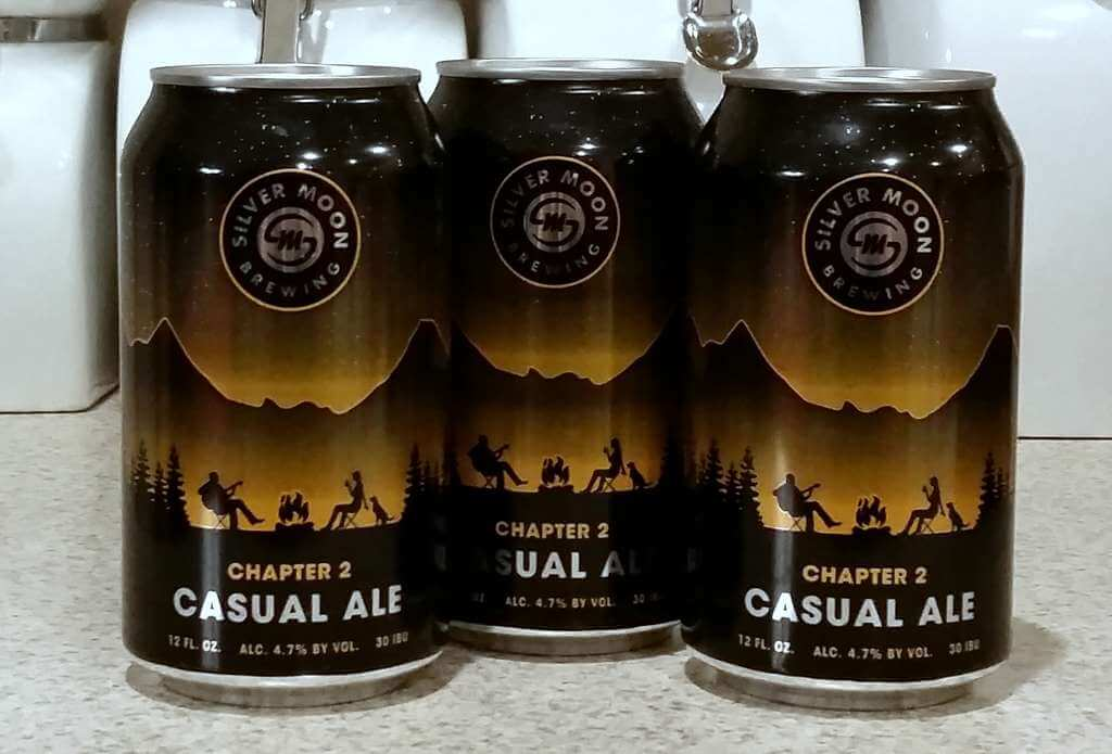 Received: Silver Moon Chapter 2 Casual Ale