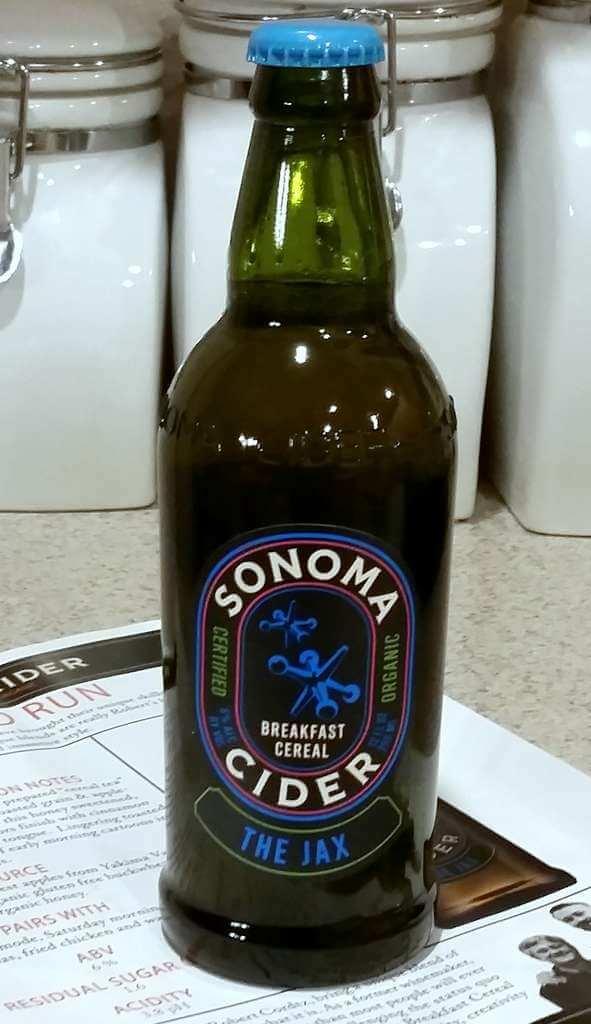 Received: Sonoma Cider The Jax