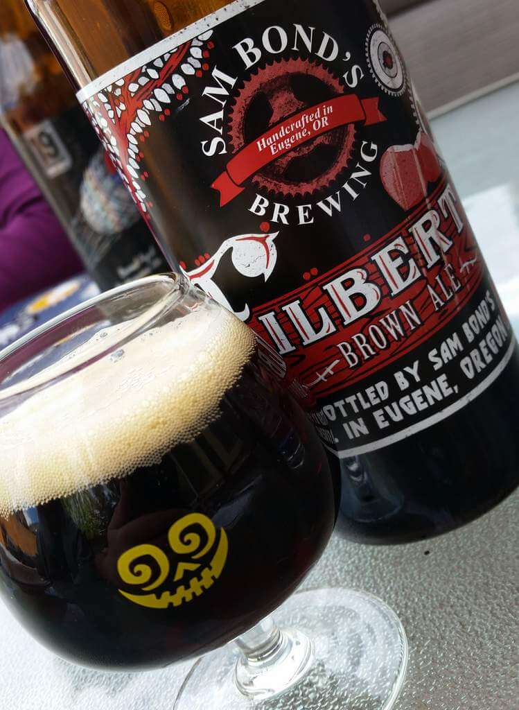 Sam Bond's Brewing Filbert Brown Ale