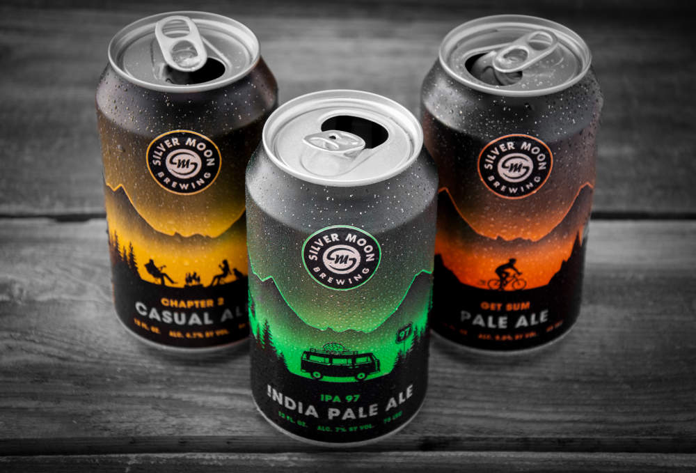 Silver Moon Brewing new canned beers