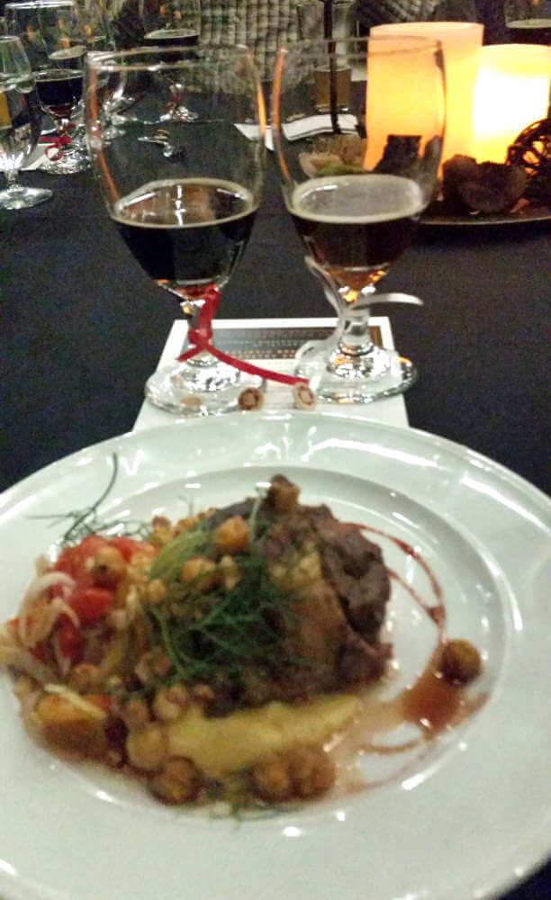 Tetherow Brewery Smackdown fourth course