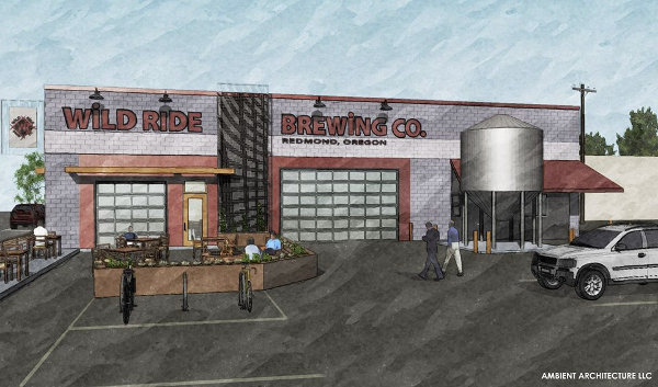 Wild Ride Brewing concept art