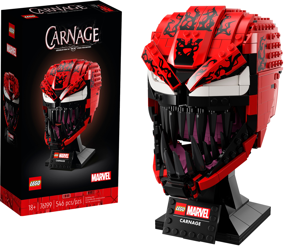 LEGO Marvel Carnage (76199) now available in the LEGO Shop – Brick Fan