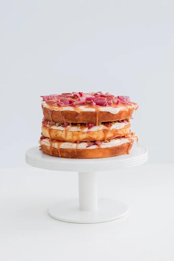 Pistachio Layer Cake Momofuku