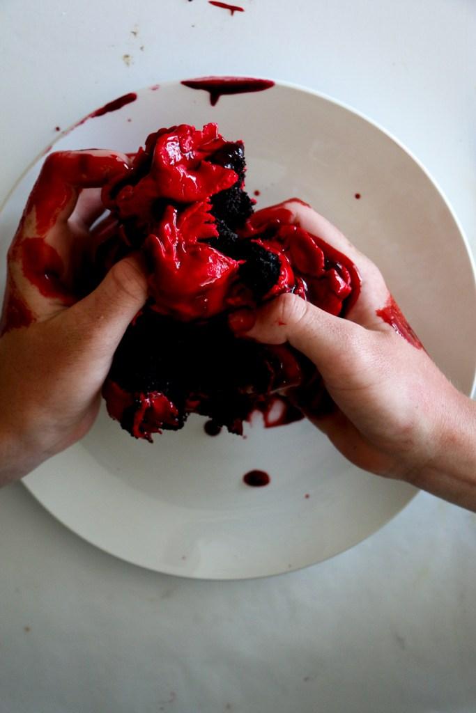 Bleeding Heart Cake - The Brick Kitchen